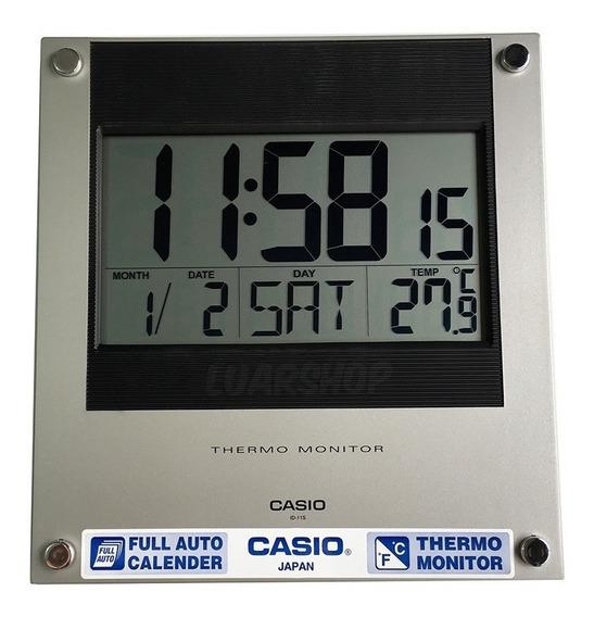 Relógio Casio Parede Mesa Digital Termômetro Calendario Nf
