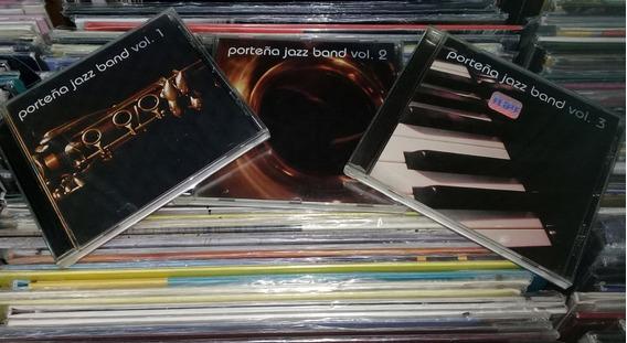 Porteña Jazz Band Lote 3 Cds Pagina/12 / Kktus