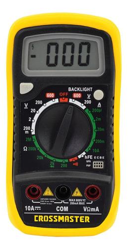 Multímetro Digital 200 - 600 V Crossmaster 9936586