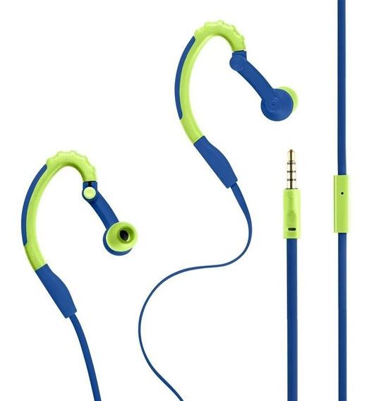 Fone De Ouvido Pulse Earhook Sport Stereo Áudio Microfone