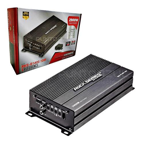 Imagen 1 de 8 de  Amplificador Rock Series Rks-r1400.1dm 2900w Max 1c Clase D