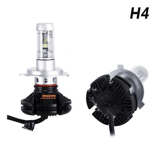 2 Bombillos Luz Led 12000lm X3 H4 Moto/carro Ultra Tecnologi