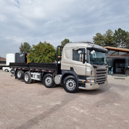 Scania P310 Bitruck 4º Eixo Porta Container 2013 P 310