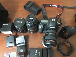Cámara Profesional Canon Eos 5d Mark Ii