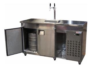 Heladera Mostrador Cervecero Frider 3 Barriles 2300