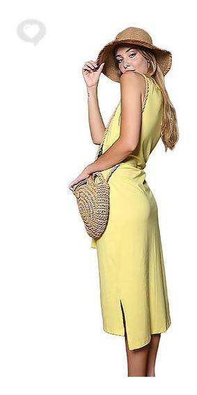 Vestido Algodón Básico - Art. Solana - Espacio De Bellas!