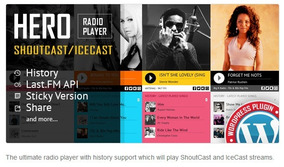 Player Shoutcast E Icecast Radio -plugin Wordpress