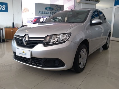 Renault Logan 1.6 Expression 8v 2015 Prata Flex