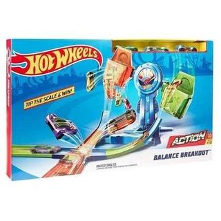 Pista Hot Wheels Equilíbrio Extremo Mattel Frete Grátis