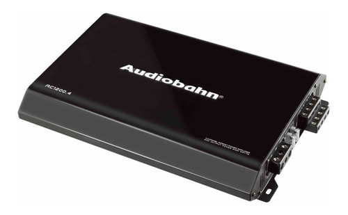 Imagen 1 de 4 de Amplificador Fuente De Poder Audiobahn 4 Canales 2400w