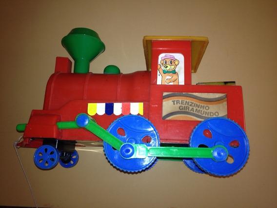 Trenzinho Giramundo - Glaslite - Raro - Antigo - Anos 80