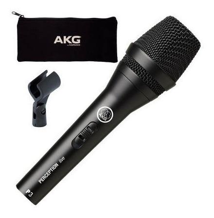 Microfone Akg P3s Perception Dinâmico
