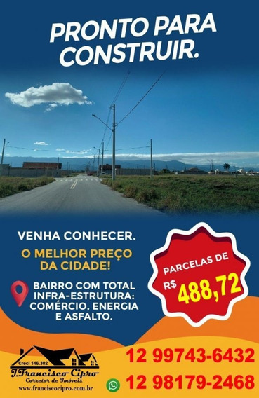 Terreno A Venda No Bairro Residencial E Comercial Portal Dos - Tr063-1