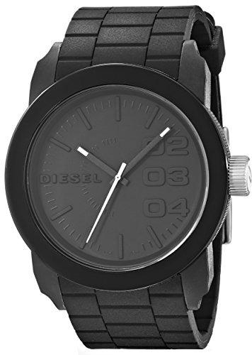 33b3d017504a Reloj Diesel Double Down Down De Acero Inoxidable Y Silicona -   325.989 en  Mercado Libre