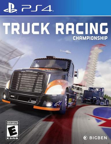 Ps4 Truck Racing Championship / Fisico