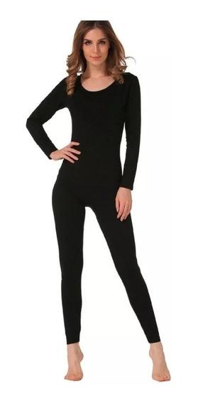 Conjunto Calça+blusa Térmica Flanelada Roupa Frio Inverno Fm