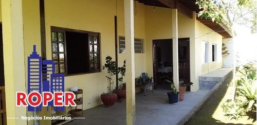 Linda Chácara De 1.056 M² Com Casa À Venda Em Condomínio Fechado Em São Roque. - Ch00973 - 69402726