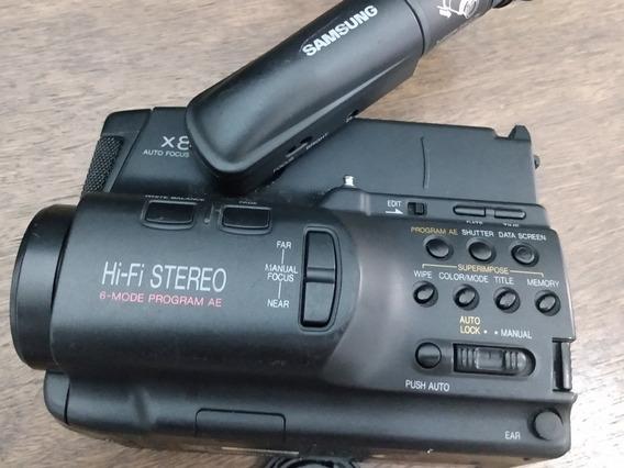 Câmera Filmadora Vídeo 8 Samsung No Estado (c20)