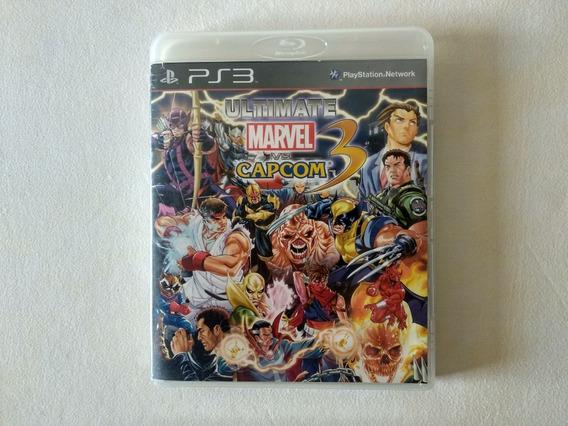 Ultimate Marvel Vs. Capcom 3 - Ps3 - (mídia Física)