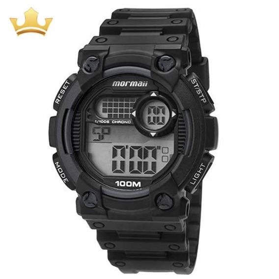 Relógio Mormaii Masculino Moy1587/8c Com Nf