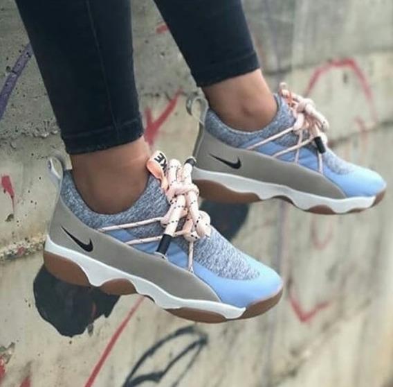 Zapato Nike Ultimo Ropa y Accesorios Celeste en Mercado