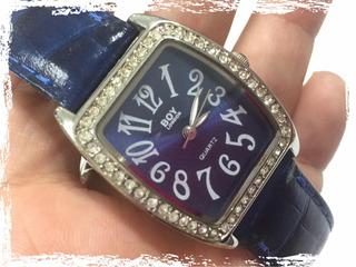 Reloj De Mujer - Malla Azul
