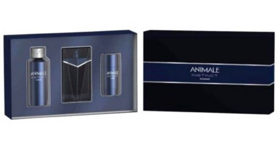Kit Animale Instinct Men Edt 100ml + Body + Desodorante