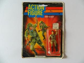 Boneco Action Figura 7cm Em Metal - Similar Comando Em Ação
