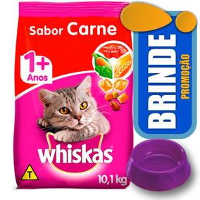 Ração Whiskas Carne Para Gatos Adultos 10,1kg