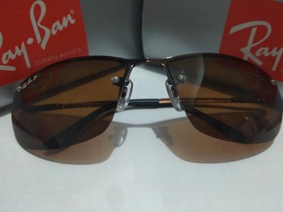 Óculos De Sol 3187 Demolidor Marrom Lente Marrom Polarizado