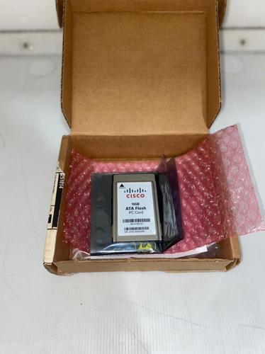 Imagem 1 de 3 de Memória Cisco Ata Flash Pc Card 16gb