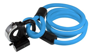 Cadeado Bike Lock Trava C/ Cabo Aço 1,2mt X 10mm X-plore U A