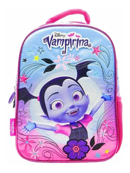 Mochila Escolar Jardin Vampirina 12 Disney Original