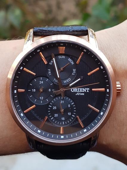 Relógio Orient Masculino Mrscm002 P1px Couro