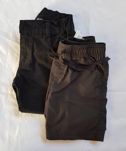 Lote Set Short Y Pantalon Largo Niño Talle 3