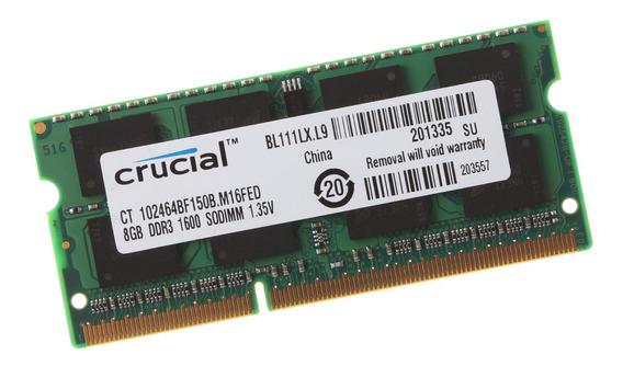 Memória 1600mhz Ddr3 8gb Mac Mini Core I5 I7 Late 2012
