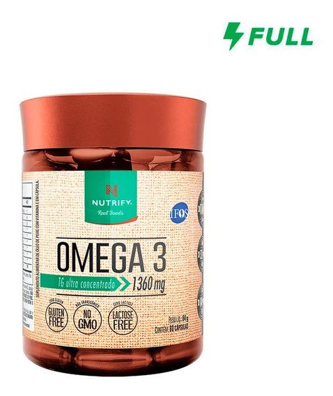Ômega 3 - 60 Cápsulas Nutrify