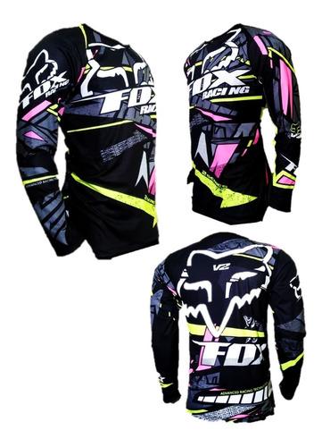 Jersey Fox Ciclismo Mtb-enduro-downhill-bicicross-motocross-