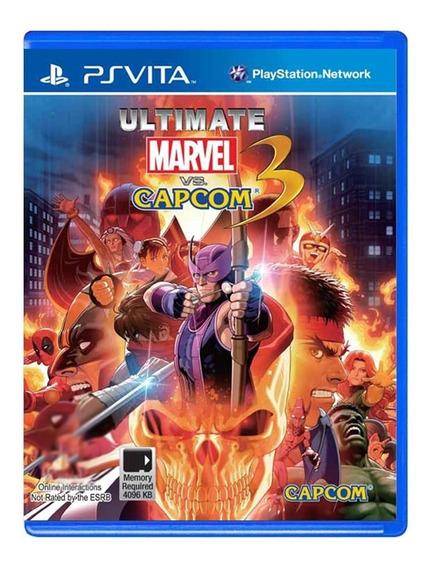 Jogo Ultimate Marvel Vs Capcom 3 - Ps Vita - Original