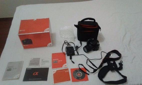 Câmera Fotográfica Prof Sony Alpha 100 Dt 18 - 70 Mmf3.5 - 5