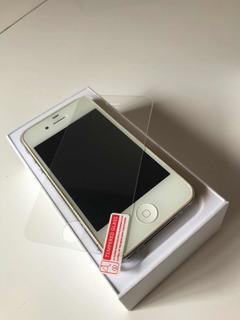 iPhone 4 Necessita Conserto Com Caixa Original E Película