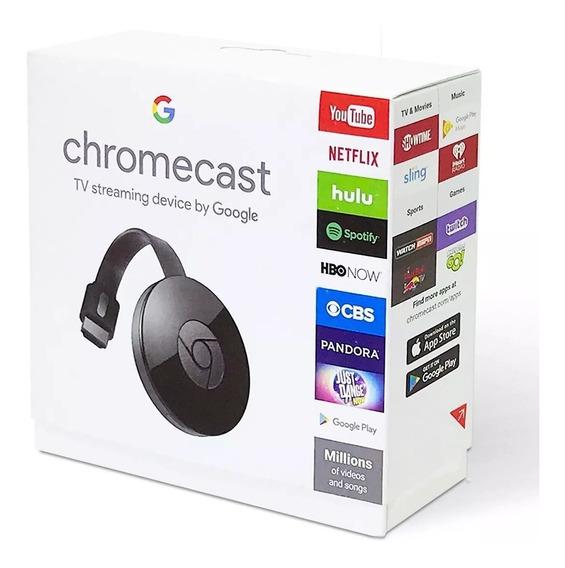 Chromecast 2 Google Hdmi Original Novo Na Caixa Lacrado