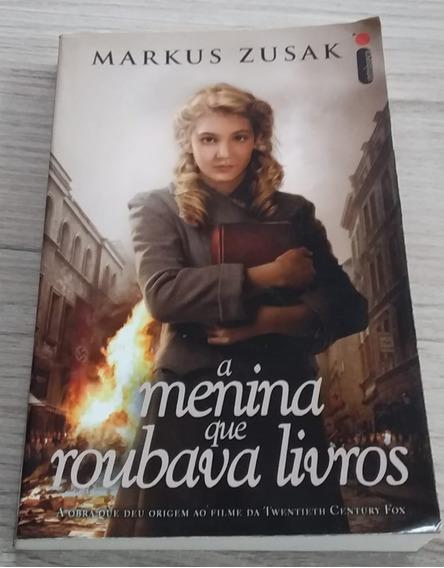 Livro A Menina Que Roubava Livros (frete Grátis)