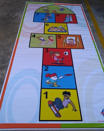 Imagen 1 de 10 de Juego De Golosa Grande Banner Impreso Con Estuche 3m X 1.50m