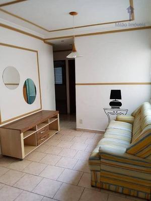 Apartamento Semi Mobiliado 3 Dormitórios À Venda, 62m², Residencial Viviane, Vila Trujillo Em Sorocaba/sp - Ap1013