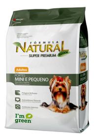 Ração Fórmula Natural Sup Premium Adulto Mini E Pequeno 20kg