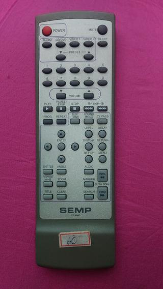 Controle Remoto Original Semp Cr-4060 Usado (bem Conservado)