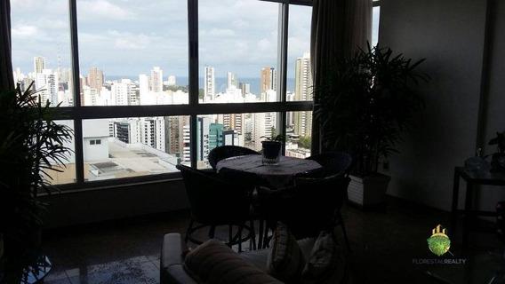 Apartamento, 4 Suítes, Sendo A Master Com Closet, 206m², Andar Alto, Nascente, 2 Vagas, Infraestrutura Na Graça - Ap0897