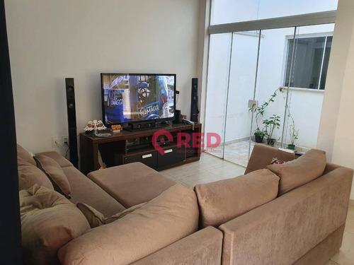 Imagem 1 de 25 de Casa Com 3 Dormitórios À Venda, 138 M² Por R$ 530.000,00 - Horto Florestal Iii - Sorocaba/sp - Ca0617