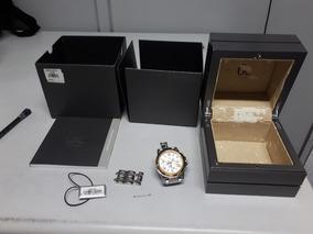 Relógio Guess Collection Swiss Original Detalhes Em Ouro